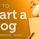 Kako začeti pisati blog (brez finančnega vložka)?