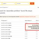 Kako pridobiti stranke z Keywordtool.io in KeywordShitter? (2. DEL VODNIKA)