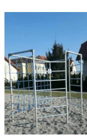 aluminijasta zunanja igrala za otroke