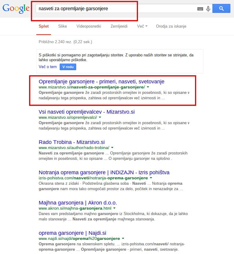 nasveti za opremljanje garsonjere Iskanje Google