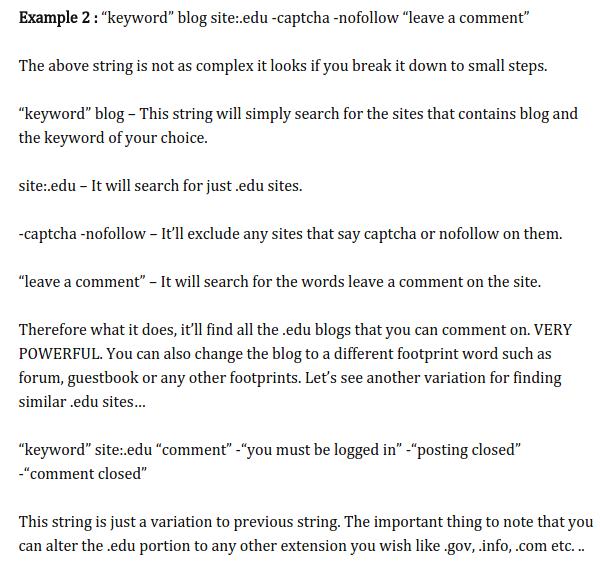iskalne fraze za blog komentiranje