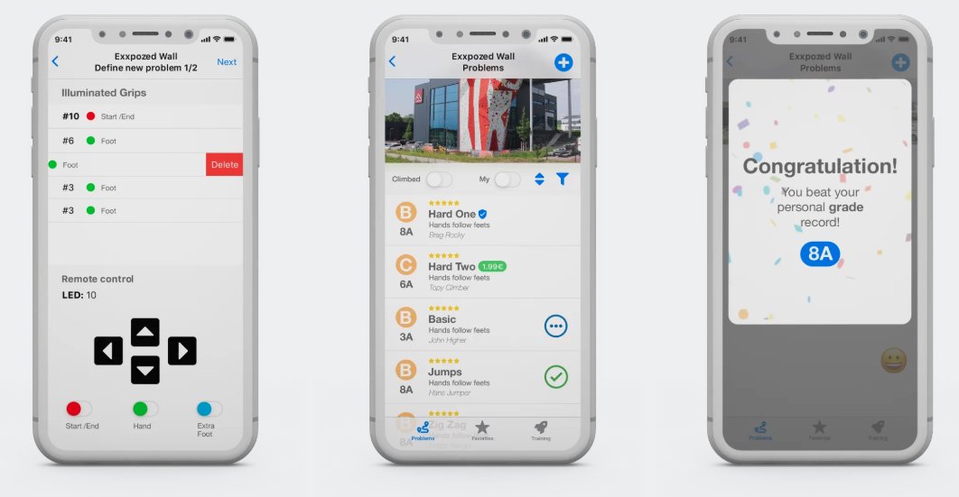 mobilna aplikacija eclimber