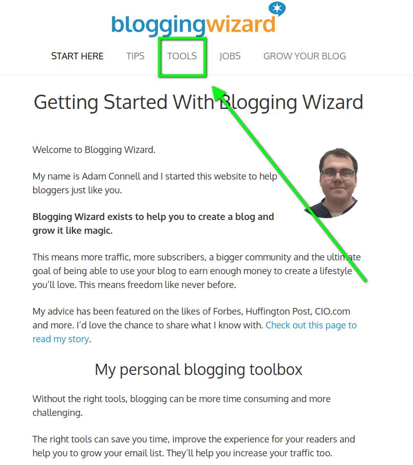 blogging wizard