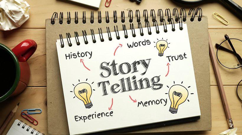 storytelling spletne strani