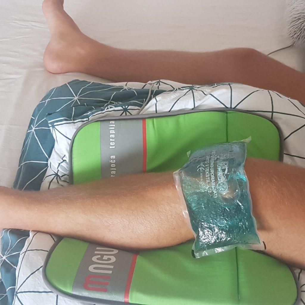 obraba kolena in magnetna terapija