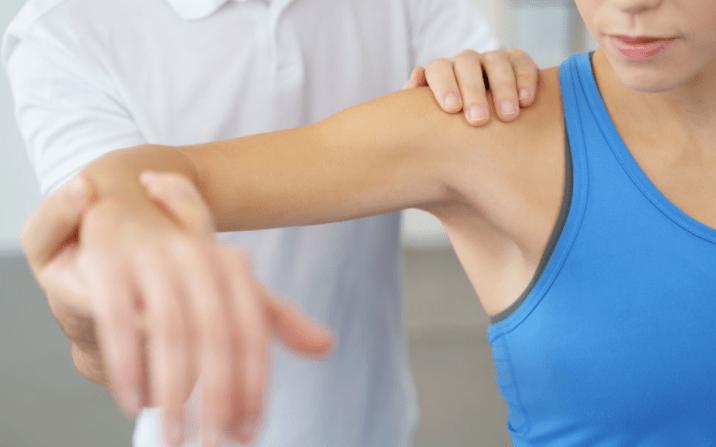bolecine v rokah - mišice